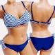 4613 Sailor Swimsuit, Navy Blue, Belts