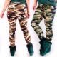 Legging camouflage en bambou, L-5XL, 5479