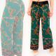 A876 Damen Hosen Hosen, Arabian Style, Malachit