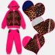 A19127 Sportlicher Trainingsanzug für Mädchen, Fit