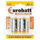 Alkaline Plus R14 batteries - 2 items