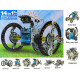 Solar robot toy vehicles 14 in 1