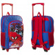 Suitcase with Spiderman Marvel wheels