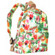 Beautiful women's backpack CB303 Flamingo Back