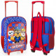 Backpack / Suitcase Paw Patrol navy blue / red