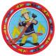 Fireman Sam - 8 plate, 23 cm Ø