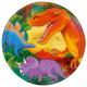 Dinosaurs - 8 plate Dino 22.8 cm Ø