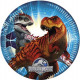 Jurassic World - paper plate 23 cm