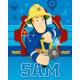 plafond fleece Fireman Sam 120x150