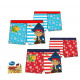 Slippers for bathing, Jake swimming and pirates 3-