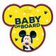 Mickey topo Baby a bordo