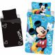 Phosphorescent Mickey Mouse bedding 140x200 cm