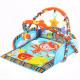 Jungle carpet with toy bridge