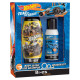 Disney Hot Wheels, set de regalo: deo y gel