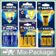 Mix-Package: Varta Batterien Top15 Sortiment