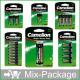 Mix-Package: Camelion Batterien Top15 im Blister