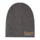 Roadsign Men's logo knitted hat, anthracite, O