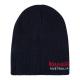 Roadsign Men's logo knitted hat, marine, one s