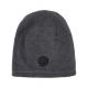 Roadsign Men's fleece hat logo, gray melange /