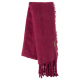 Roadsign Fleece scarf, mauve, one size