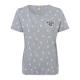 Ladies T-Shirt Cherry Lady, gray melange, assorted