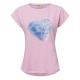 Les femmes T-Shirt Enjoy Life, rose, tailles assor