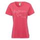 Damen T-Shirt Australian Summer, L, coralle