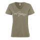 Ladies T-Shirt Summer Love, khaki, assorted sizes