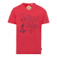 Chemise homme imprimée Rough Waters, rouge, taille