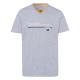 Messieurs T-Shirt Brisbane, mélange gris, assortim