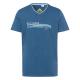 Herren T-Shirt Brisbane, blau, sortierte Größen