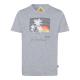 Pour des hommes T-Shirt , mélange gris, tailles as