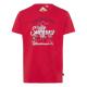 Pour des hommes T-Shirt , rouge, tailles assorties