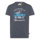 Herren T-Shirt, anthrazit, sortierte Größen