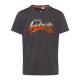 Herren T-Shirt Adelaide, anthrazitmelange, sortier