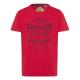 Uomini T-Shirt Abbigliamento Superior DX, rosso, a