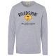 Men's longsleeve logo Roadsign , XL, gray mela