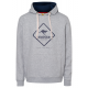 Men's hoodie Keep the Spirit, gray melange, so