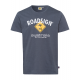 Herren Logo T-Shirt Raute, 4XL, anthrazit