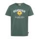 Herren Logo T-Shirt Raute, 2XL, grün