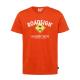 Herren Logo T-Shirt Raute, XL, orange