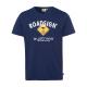 Herren Logo T-Shirt Raute, 2XL, marine
