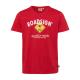 Herren Logo T-Shirt Raute, 4XL, rot