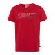Herren Logo T-Shirt Sydney, L, rot