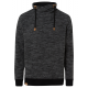 Men's fleece pullover tube, 2XL, black