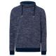 Men's fleece pullover tube, 2XL, navy