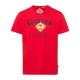 caballeros T-ShirtRoadsign , L, rojo