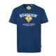 Herren T-Shirt Roadsign, XL, marine
