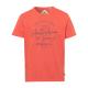 signori T-Shirt Marchio australiano, L, arancione