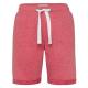 Shorts da donna, XL, rosso
